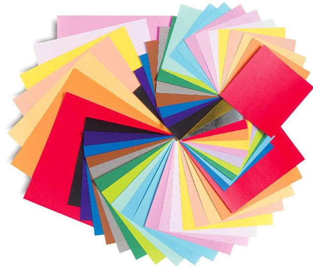Các loại giấy in phong bì với nhiều màu