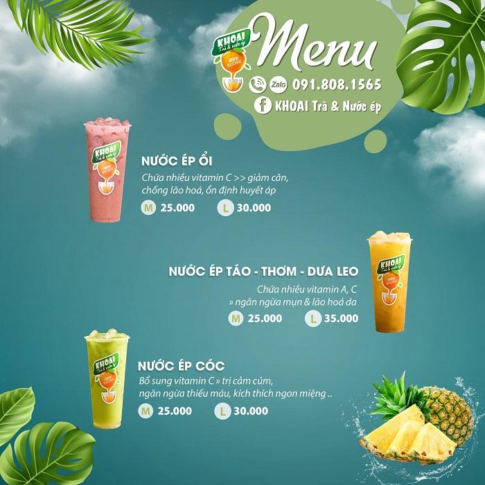 [Hình sản phẩm] Bộ ảnh menu ẩm thực
