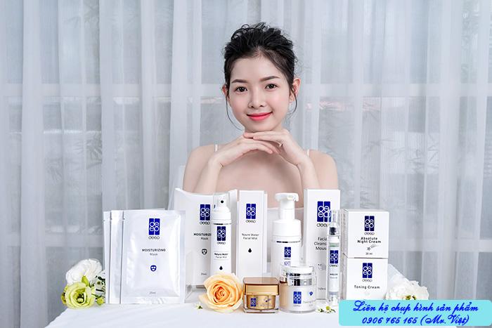 Bộ ảnh chụp chân dung người kèm sản phẩm